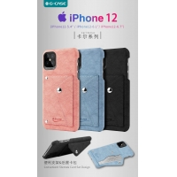 Buy cheap Distribute Carl Series Productive PU Cover Case for iPhone 12 5.4 from wholesalers