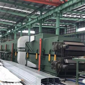 China Sectional PU Sandwich Panel Line / Metal Sandwich Panel Making Machine on sale