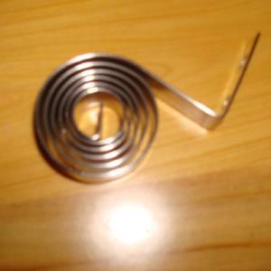Buy cheap Acero de carbono 60Si2Mn, muelle de torsión espiral 65Mn para los juguetes, cinturón de seguridad product