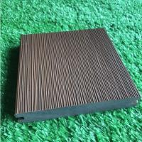 Buy cheap Durable Co Extrusion Wpc Decking , Bamboo Plastic / Wood Polymer Composite Decking product
