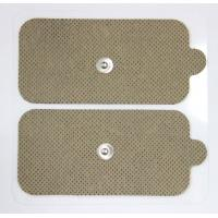 Buy cheap Self-Adhesive Reusable TENS Pads , Electrode Pads With Snap Connector product