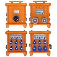 Buy cheap MK2 Multi Ways Powerhouse Portable Distribution Boxes With Disconnect And Overcurrent Protection Provided By MCB RCBO product