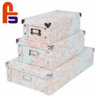 Buy cheap Customized Logo Printing Screen Printing With Handle Cardboard Gift Boxes product