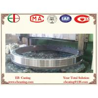 Buy cheap Machined Over ZG310-570 Ring Casting Parts for Cement Kiln EB14017 product