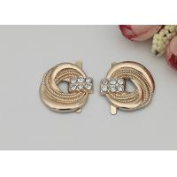 Buy cheap LHZ1003 Zinc Alloy Buckle Different Sizes And Colors Womens Shoe Accessories from wholesalers