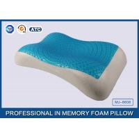 China Therapeutic Memory Foam Cooling Gel Pillow with Soft Cover , Cooling Gel Bed Pillow wholesale