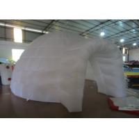 Buy cheap White Round Inflatable Air Tent , Party  Blow Up Tents Large Dia5.48 X 3.66m product