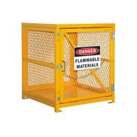 """Desk Top Half Height  Propane Tank Safety Cage , Gas Bottle Enclosure 31"""" W X 30"""" D X 35"""" H"""