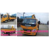 Buy cheap China best price T-KING 4*2 2.5Tons cargo truck with crane for sale, factory from wholesalers