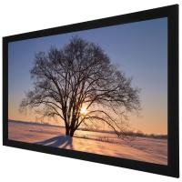 Buy cheap Custom 100 Inch 4K Ultra HD  Fixed Frame Screen / Home Theatre Projection Screen product