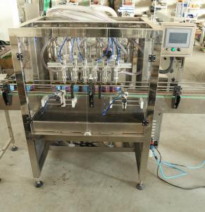Buy cheap Équipement remplissant de liquide de soude/eau/jus avec la pompe de position, approbations de GMP de la CE product