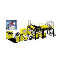 Buy cheap Plastic Bubble Wrap Manufacturing Machine With LDPE Raw Material Model product