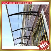 Buy cheap great China outdoor house window door polycarbonate diy pc awning canopy canopies cover shelter kits manufacturers product