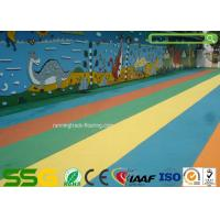 Buy cheap Custom Colored EPDM Granulated Rubber Flooring Sports Court Mat Acid / Alkaline Resistance from wholesalers