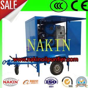 Buy cheap Type épurateur d'huile de transformateur, machine de remorque de NAKIN ZYM de purification d'huile product