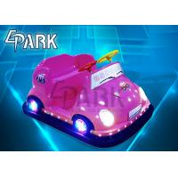 China Promotion Children Indoor Bumper Car Ride Game Machine with LED light on sale
