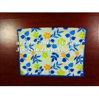 Buy cheap 100% polyester microfiber microfibre printed towel product