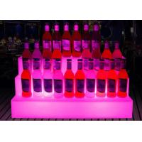 Buy cheap Custom Beer Illuminated Luminous Acrylic Led Lighting Ice Wine Bucket Shelf from wholesalers