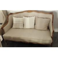 French sofa linen velvet fabric sofas vintage chesterfield for Fabric couches for sale