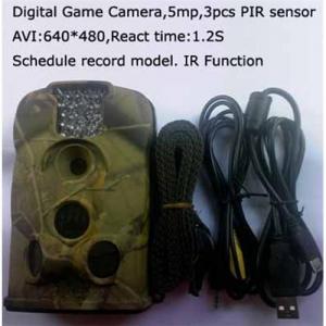 caméras de scout de traînée de gland de LTL 5mp avec 6 mois de temps de latence