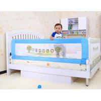 China Secure Baby Bed Rails 150CM Lovely Cartoon Design With Woven Net on sale