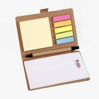 Buy cheap Brown Personalised Stationery Notebooks / Personalized Notebook With Sticky Notes product