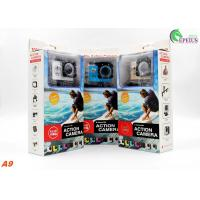 Buy cheap Professional 30 Meters Waterproof Action Camera A9 Full 1080P HD No Wifi Mini from wholesalers