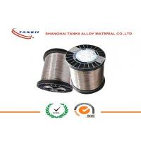 Buy cheap 0.6mm CuNi30Mn Copper Nickel Alloy Wire , Copper Nickel Strip for Thermal Overload Relay product