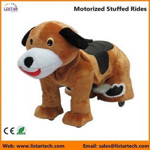 Buy cheap Passeios enchidos motorizados a pilhas em brinquedos para crianças e adulto-cão product
