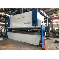 Buy cheap 400 Ton 6m Cnc Hydraulic Press Brake Machine With Flat Floor No Foundation from wholesalers