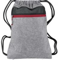 Buy cheap 300D Tone Polyester Drawstring Bag Light Weight For Outdoor Sports product