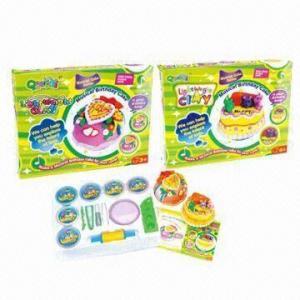 China Музыкальный набор глины именниного пирога облегченный, воспитательные игрушки с музыкой wholesale