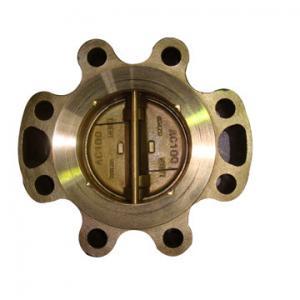 Buy cheap Задерживающие клапаны БС алюминиевой меди, задерживающие клапаны ДИН промышленные с вафлей, волочением, служили фланцем соединение product