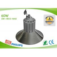 Buy cheap Indoor 125lm / W 60w Led High Bay Lights Commercial High Bay Lighting product