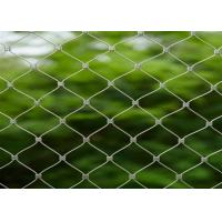 Buy cheap 7*7 2.0mm 304l Stainless Steel Rope Mesh from wholesalers