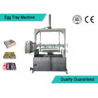 Recycled Paper Pulp Molding Machine , Carton / Box Egg Tray Manufacturing Machine