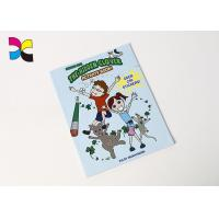 China Funny Custom Brochure Printing , 10*12CM Children Full Color Brochure Printing on sale
