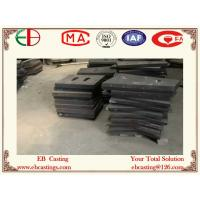 Buy cheap AS2027 NiCr4-600 Ni-Hard Cast Liner Abrasive Shell Liners & End Liners for Coal Mills product