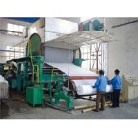 Buy cheap 1092mm Tissue Paper Machine product