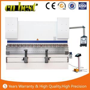 Buy cheap máquina del freno de la prensa del CNC del acero de la dobladora/del hierro de la prensa hidráulica de la hoja plateada de metal serva hidráulica del freno product