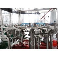 Buy cheap Automated Commercial Carbonated Drink Filling Machine 2000 BPH 380V 2000KG product