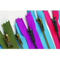 Quality Customize # 5 Black Nickel Open End Zippers For Shoes Bag Clothes anti-brass for sale