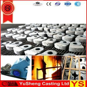 China mining crusher spare parts,hammer crusher spare parts, hammer crusher wear hammer on sale