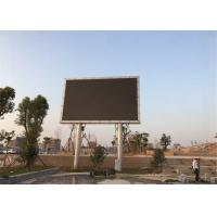 China Energy Saving waterproof IP65 P10mm big Outdoor Advertising Screen For Train Station Easy Maintain on sale