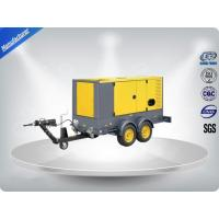 Buy cheap 50 Hz Water - Cooling Silent Genset Trailer 16 Cylinder Prime Power 1480Kw product