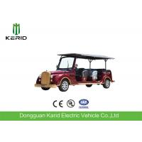 Buy cheap 8 Seater 7.5KW Electric Vintage Cars Classic Retro Golf Cart CE Certificated product