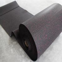 Buy cheap Black Rubber Sports Flooring , Gym Sports Flooring Anti - Slip Feature from wholesalers