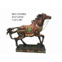 China Resin Horse Figurine for Home Decoration (D22-14131B63) on sale