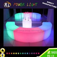Buy cheap Event&Party Furniture RGB Color Chaning led snake stool from wholesalers