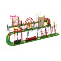 Buy cheap Outside Kids Climbing Play Equipment  For Children Park Obstacle Challenge product